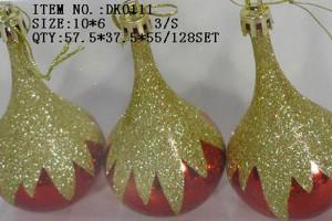 PriceList for Christmas Ornaments - Christmas gift christmas glass ball factory wholesale glass ball christmas ornament10126 – Kingstone