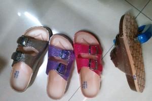 Sandals slippers yiwu footwear market yiwu shoes10374