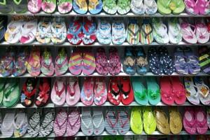 Sandals slippers yiwu footwear market yiwu shoes10376
