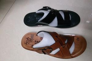Sandals slippers yiwu footwear market yiwu shoes10407