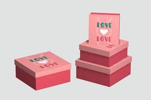 gift box for men or women paper box storage box10029