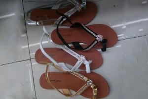 Sandals slippers yiwu footwear market yiwu shoes10386
