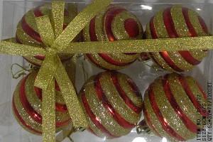 China Manufacturer for China Souring Agent -  Christmas gift christmas glass ball factory wholesale glass ball christmas ornament10042 – Kingstone