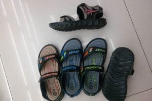 Sandals slippers yiwu footwear market yiwu shoes10603