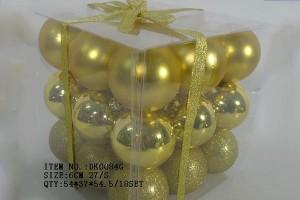 Factory Free sample Business Provider - Christmas gift christmas glass ball factory wholesale glass ball christmas ornament10050 – Kingstone