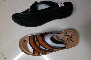 Sandals slippers yiwu footwear market yiwu shoes10406