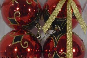 OEM Customized Quality Inspection Provider China -  Christmas gift christmas glass ball factory wholesale glass ball christmas ornament10049 – Kingstone