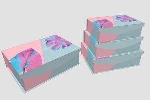 gift box for men or women paper box storage box10034