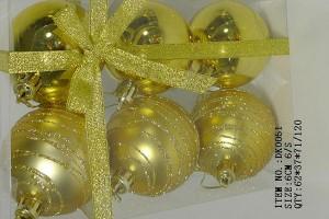 Wholesale Price China Christmas Bag - Christmas gift christmas glass ball factory wholesale glass ball christmas ornament10038 – Kingstone