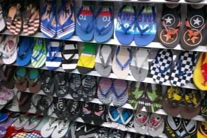 Sandals slippers yiwu footwear market yiwu shoes10375