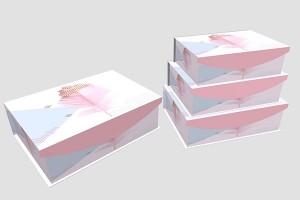 gift box for men or women paper box storage box10035