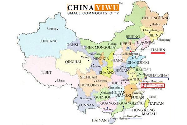 Yiwu Map Featured Image