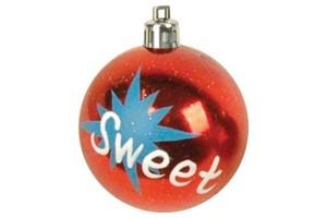 Christmas gift christmas glass ball factory wholesale glass ball christmas ornament10085