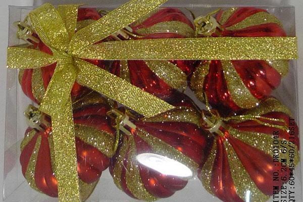 Factory wholesale Christmas Decorations - Christmas gift christmas glass ball factory wholesale glass ball christmas ornament10127 – Kingstone