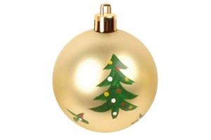 Christmas gift christmas glass ball factory wholesale glass ball christmas ornament10084