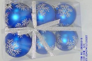 Factory Free sample Business Provider - Christmas gift christmas glass ball factory wholesale glass ball christmas ornament10025 – Kingstone